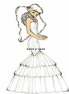 Disney Princess Wedding Dresses Ariel By Lulu Ibeh On