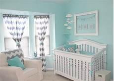 Kinderzimmer Blau Grau - aqua and gray chevron nursery project nursery