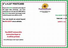 traditional postcard template postcard design and mailing free templates 4 215 6 5 215 7 6