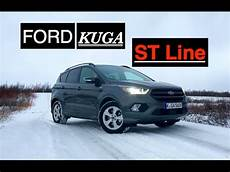 nouveau ford kuga 2017 2017 ford kuga st line review inside