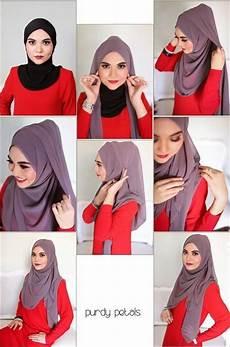 Cara Memakai Jilbab Simple Syar I Tutorial Cara