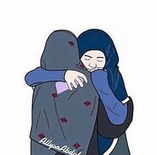 17 Gambar Kartun Muslimah Tanpa Cadar Gambar