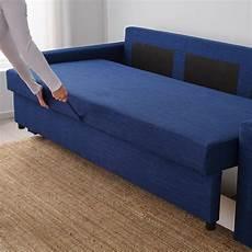 divano friheten friheten 3 seat sofa bed skiftebo blue ikea