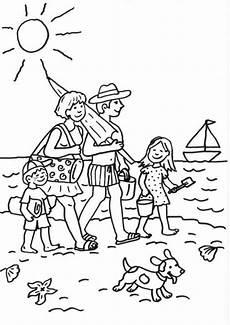 Schule Und Familie Ausmalbilder Dinosaurier Kostenlose Malvorlage Sommer Familie Am Strand Ausmalen