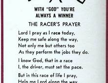 Image Detail For  The Racers Prayer STOCK CAR