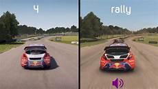 dirt 4 vs dirt rally peugeot 208 wrx comparison