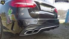 Mercedes C63 Amg S 205 Acceleration 0 100 Km H