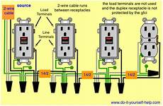 wiring diagrams for gfci outlets do it yourself help com