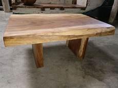 table basse bois massif brut mercier carrelages table basse bois de suar massif