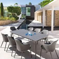 Table De Jardin Aluminium Extensible Rectangle Hesp 233 Ride