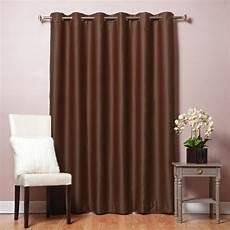 home fashion gardinen best home fashion 80 in w x 84 in l chocolate wide