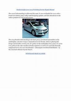 car service manuals pdf 2005 honda insight on board diagnostic system honda cars mechanic service repair
