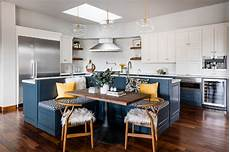 Gardenweb Kitchen Banquette by 10 Kitchen Islands That Feature Banquette Seating
