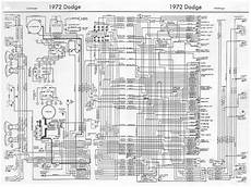 dodge challenger 1972 complete wiring diagram all about wiring diagrams