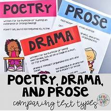 poetry prose drama worksheets 25262 poetry drama and prose comparing text types comparing texts text types poetry