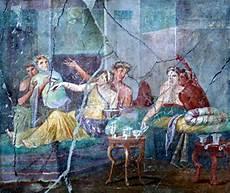 banchetto romano il triclinio romanoimpero