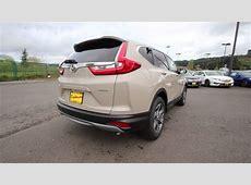 2017 Honda CR V EX L   Sandstorm Metallic   HL030348