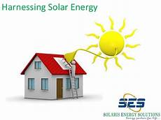 harnessing of electricity harnessing solar energy by team quot ses quot