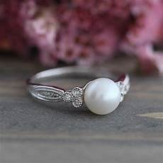 Pearl Wedding Rings
