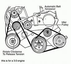 2010 dodge caravan 2 4 engine diagram 1999 plymouth voyager 2 4l and 3 0l serpentine belt diagram serpentinebelthq
