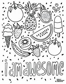 i am awesome coloring sheet growth mindset for kids in 2019 products growth mindset for