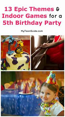 13 Epic Indoor Birthday For 5 Year