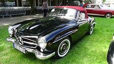 1955 mercedes 190 sl exterior and interior