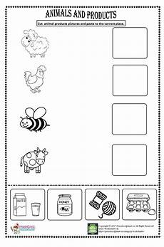 animals around us worksheets 14065 animal products worksheet kindergarten worksheets worksheets for animal worksheets