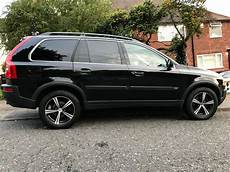 volvo xc90 2005 black excellent car leather