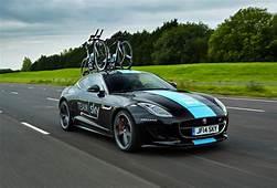 Jaguar F Type Coupe Acts As Support Car For Tour De France