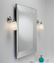 glass chrome arm wall light ip44