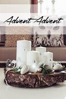 s bastelkistle diy simpler adventskranz
