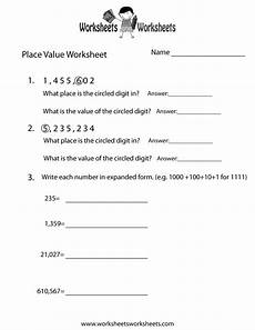 place value value worksheets 5314 free printable place value practice worksheet