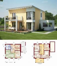 Einfamilienhaus Mit Pultdach Haus Evolution 136 V8 Bien