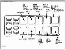 1995 cadillac eldorado fuse diagram location 1988 cadillac fuel quot relay quot need to find the