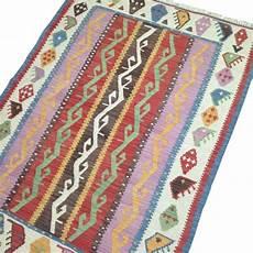 petit tapis de salon en kilim kurde 100 s19