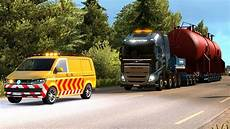 70t oversize load special transport dlc look