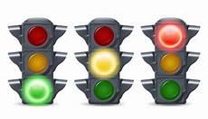 Traffic Lights Set Vector Free