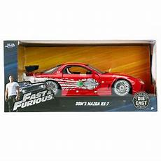 Fast And Furious Modellautos - toys fast and furious dom s mazda rx 7 diecast model