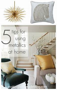 Home Decor Ideas Gold by Mixed Metallics Home Decor How To Mix Gold Silver