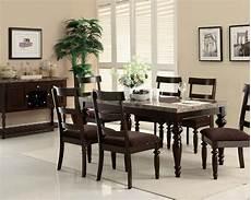 acme dining w turning leg table bandele ac70380set