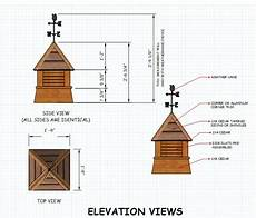 cupola house plans free cupola plans for your neat shed