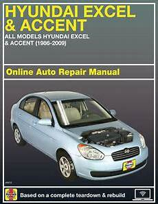car manuals free online 2005 hyundai accent auto manual 2005 hyundai accent haynes online repair manual select access ebay