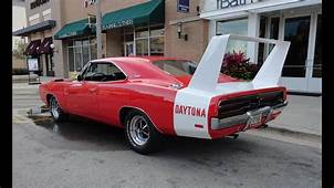 1969 Dodge Charger Daytona With A 440 Magnum Engine  My