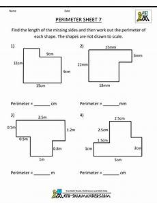 measuring perimeter worksheets grade 4 1812 printable perimeter worksheets 7 maths perimeter worksheets area perimeter math