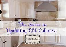 updating 80 s builder grade kitchen cabinets