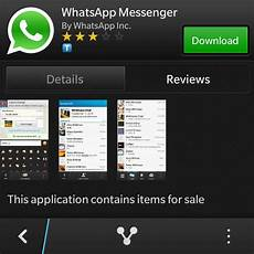 whatsapp released for the blackberry q10 update for z10