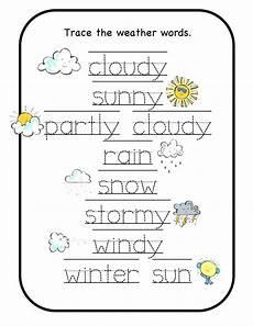 preschool worksheets for weather clover hatunisi