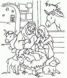 weihnachten krippe weihnachten ausmalbilder