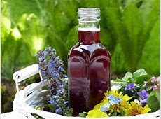 blueberry pomegranate infused red wine vinegar_image